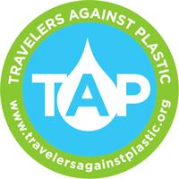Travelers Against Plastic Logo