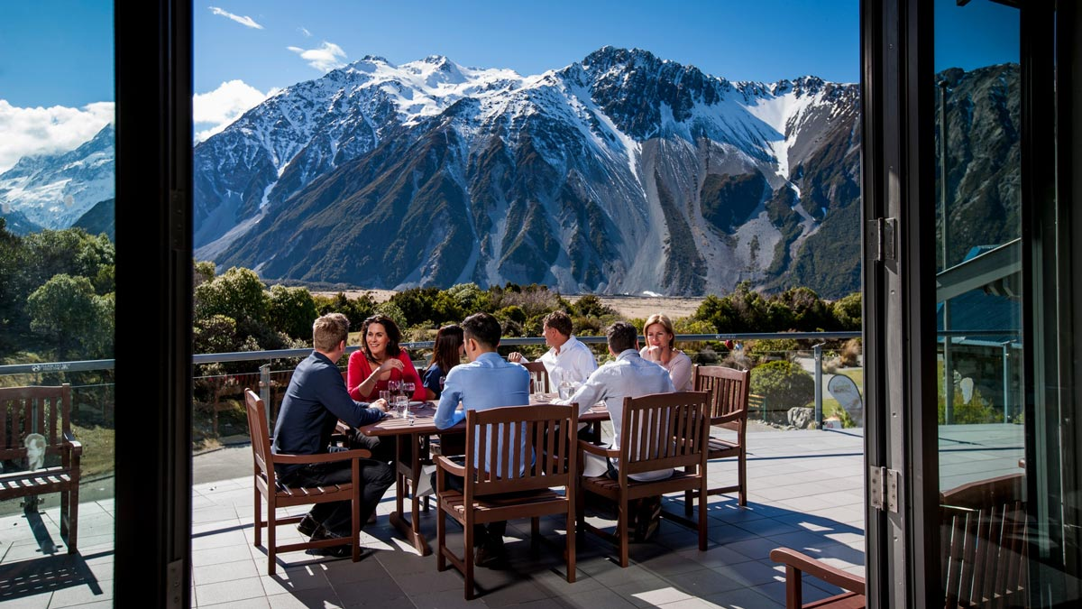 Eating New Zealand Mountains