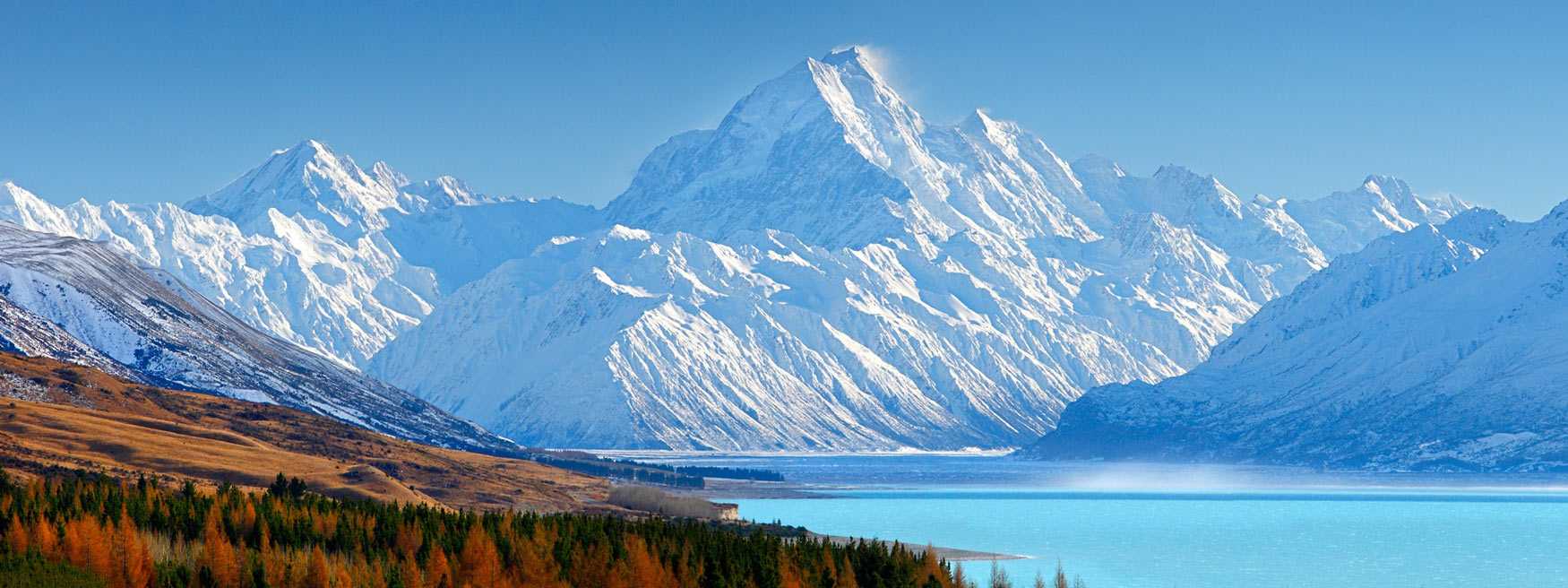 New Zealand Mountains Header